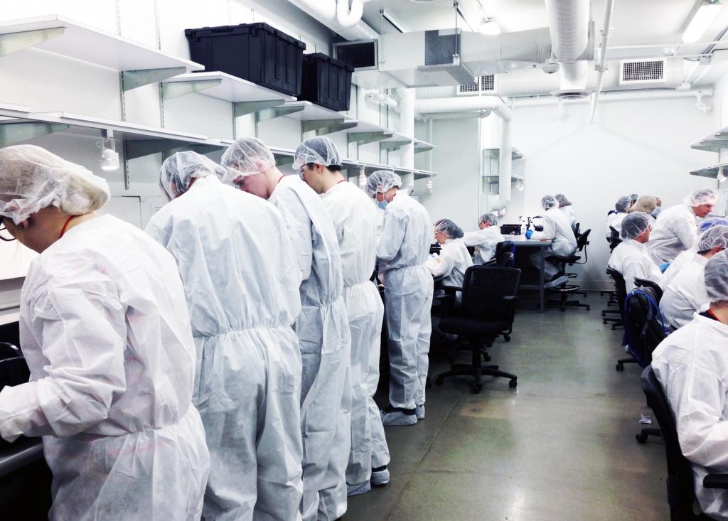 Tilray processing facility